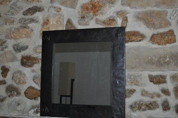 miroir plat metal. Black Bedroom Furniture Sets. Home Design Ideas