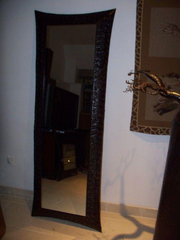 Miroir martele - Miroir argent martele ...