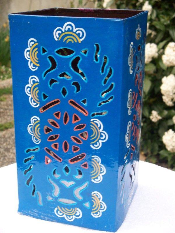 Lampe couleur a poser for Association miroir fes