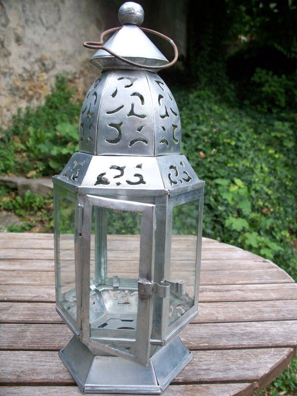Lanterne a poser for Association miroir fes