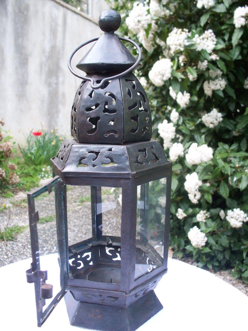 Lanterne fer forge for Porte lanterne fer forge